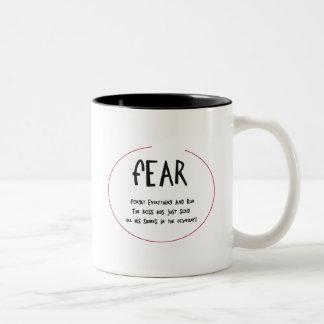 Funny Acronynms - FEAR Coffee Mug
