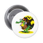 funny actor acting alligator cartoon character pins