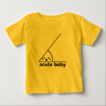 """Funny acute angle geeky baby T-Shirt<br><div class=""""desc"""">Funny acute angle geeky</div>"""