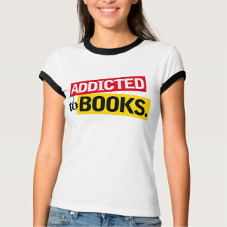Funny Addicted To Books Reading Gift T-Shirt