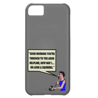 Funny ADHD Case For iPhone 5C