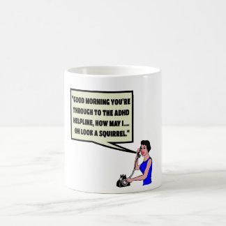 Funny ADHD Coffee Mug