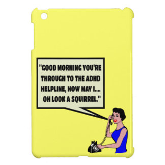 Funny ADHD iPad Mini Cases