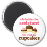 Funny Administrative Assistant Magnets