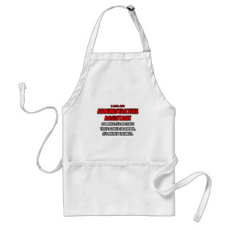 Funny Administrative Asst .. Highly Unlikely Apron