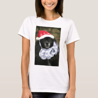 Funny & Adorable Santa Claus Dog With Beard T-Shirt