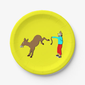 funny adult birthday party 7 inch paper plate