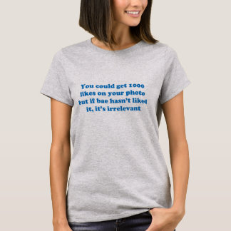 Funny adult sarcasm humor & jokes about facebook T-Shirt