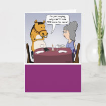 Funny Adventurous Horse Birthday Card