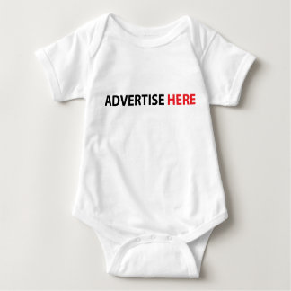 funny advertise here shirt