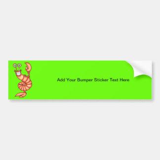 Funny Aerobic Lobster Bumper Sticker