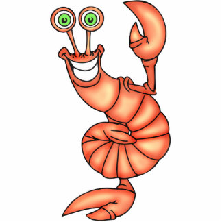 Funny Aerobic Lobster Photo Cut Outs