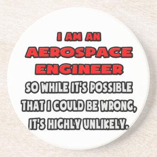 Funny Aerospace Engineer .. Highly Unlikely Coaster