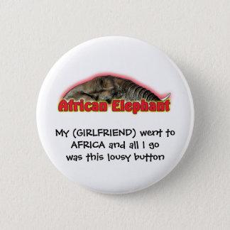 Funny africa humour wildlife safari buttons badges