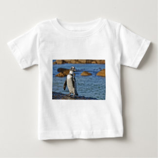 funny African Penguin, Boulders Beach Baby T-Shirt