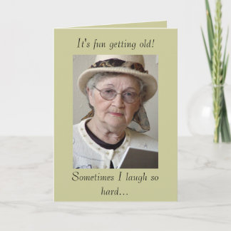 Funny Aging Getting Old Birthday