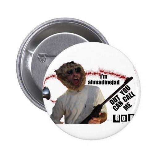 Funny Ahmadinejad Display Button