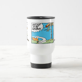 Funny Air Traffic Controller Cartoon Mug