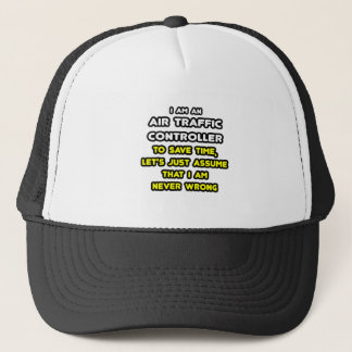 Funny Air Traffic Controller T-Shirts Trucker Hat