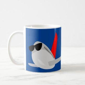 Funny Airplane Coffee Mug