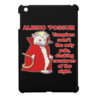 Funny Albino Possum Vampire Animal Case For The iPad Mini