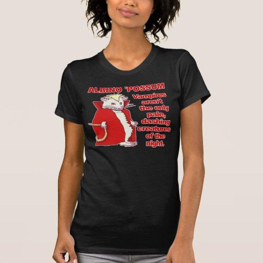 Funny Albino Possum Vampire Animal T-Shirt