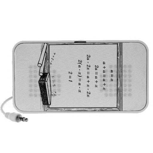 funny algebra joke iPhone speakers