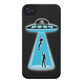 Funny Alien Abduction Case-Mate iPhone 4 Cases