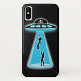 Funny Alien Abduction iPhone X Case