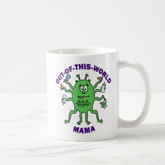 Funny Alien Mama Mother's Day Classic White Coffee Mug