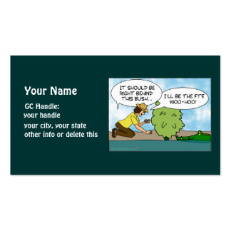 Funny Alligator Cache Geocaching Signature Handle Business Card Template