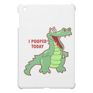 Funny Alligator Pooped Today Cover For The iPad Mini