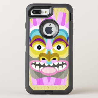 Funny Aloha Tiki Hut Monster OtterBox Defender iPhone 8 Plus/7 Plus Case