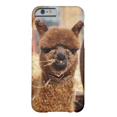 Funny Alpaca Barely There iPhone 6 Case