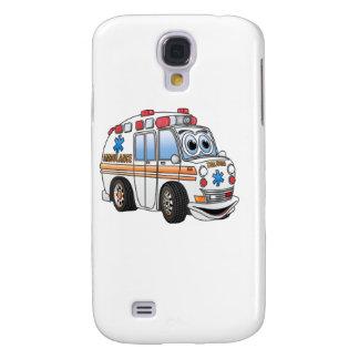 Funny Ambulance Cartoon Galaxy S4 Cover