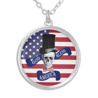 Funny American flag Pendants