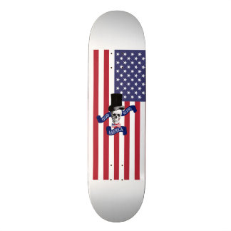 Funny American flag Skateboard Deck