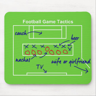 Funny American football game tactics, Mouse Pad