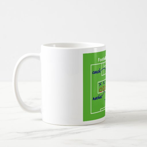 Funny American football game tactics, Coffee Mugs