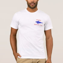 Funny Amputee Shirt Shark Suit Tester