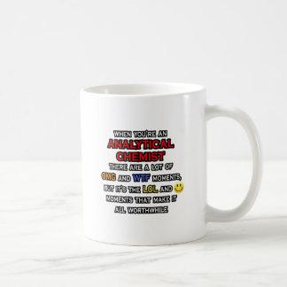 Funny Analytical Chemist ... OMG WTF LOL Coffee Mug