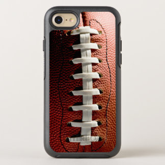 Funny and Cool Football Pattern Sports Fan OtterBox Symmetry iPhone 7 Case