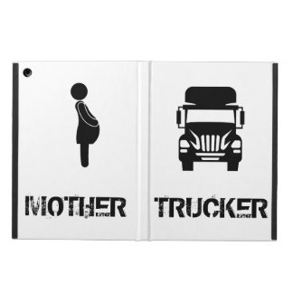 Funny and cool Mother Trucker by Storeman Cover For iPad Air