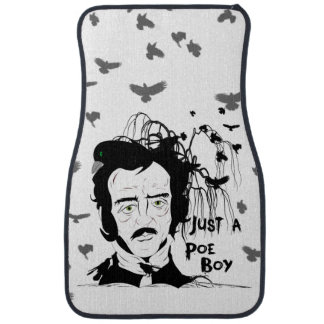 Funny and Creepy Edgar Allan Poe Car Mats Floor Mat