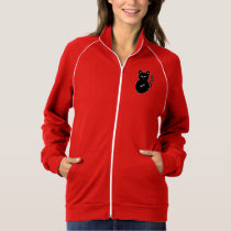 Funny and Cute Cartoon Mouse Mascot Drawing Jacket
