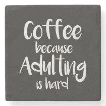 Funny and cute coffee coaster