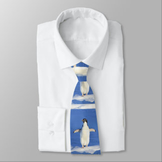 Funny and cute little baby penguin tie