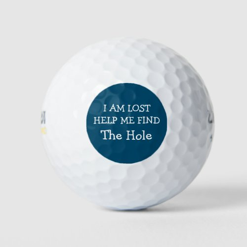 Funny And Humorous Lost Golf Balls