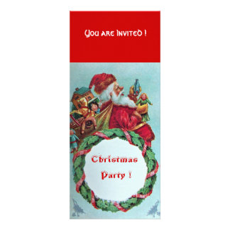 FUNNY AND HUMOROUS SANTA CLAUS VINTAGE CROWN CUSTOM ANNOUNCEMENTS