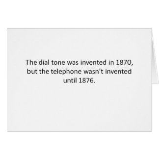 Funny and not true at all! greeting card